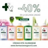 """Nuestros champús preferidos en promooo!!! 💥💥💥💥  -40% en la segunda unidad.   Añade el código de descuento """"KLORANE40"""" en el carrito:  www.farmaciavergara12.com   #pvergara12 #farmaciavergara12 #farmaciaonline #promocionchampu"""