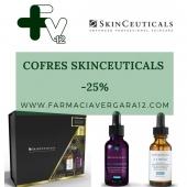 Ya están disponibles los cofres promocionales de SkinCeuticals!!!.   -25% EN EL PRODUCTO MÁS CARO!!!!.  Os recordamos que esta promoción se realiza una vez al año y es hasta fin de existencias!!!.  Os dejamos un breve esquema y los productos para que identifiquéis el cofre que mejor se adapte a vosotros !!.  1. ARRUGAS + LUMINOSIDAD. 2. ARRUGAS + FIRMEZA. 3. ARRUGAS + MANCHAS + DESHIDRATACIÓN.  4. VOLUMEN + CONTORNO DE OJOS. 5. MANCHAS + LUMINOSIDAD. 6. ARRUGAS + LUMINOSIDAD.   —————-  1. HA INTENSIFIER + CE FERULIC. 2. CE FERULIC + AGE INTERRUPTER. 3. RETINOL + TRIPLE LÍPIDO RESTORE. 4. HA INTENSIFIER + AGE EYE COMPLEX.  5. DISCOLORATION + PHLORETIN + ADVANCED BRIGHTENING UV  SPF50. 6. PHLORETIN + GLYCOLIC 10.  #cofresSkinCeuticals #25%descuento #enlaunidadmascara #SkinCeuticals #ceferulic #haintensifier #glycolic10 #ageinterrupter